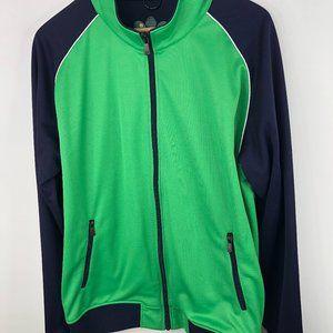 Brooks Brothers Prosports  Full Zip Jacket Mens XL